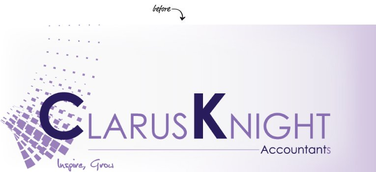 Clarus Knight before-After