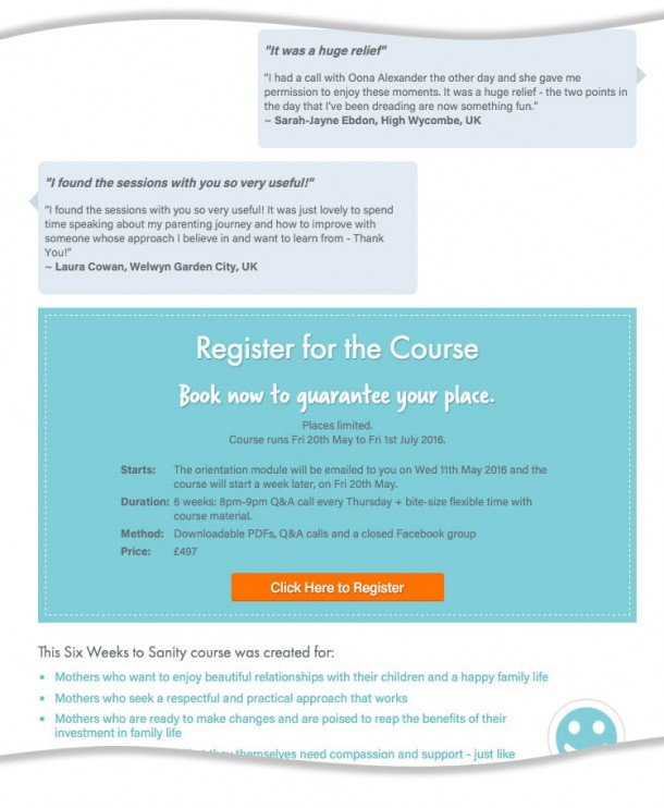 Case Study for Start ups landing page