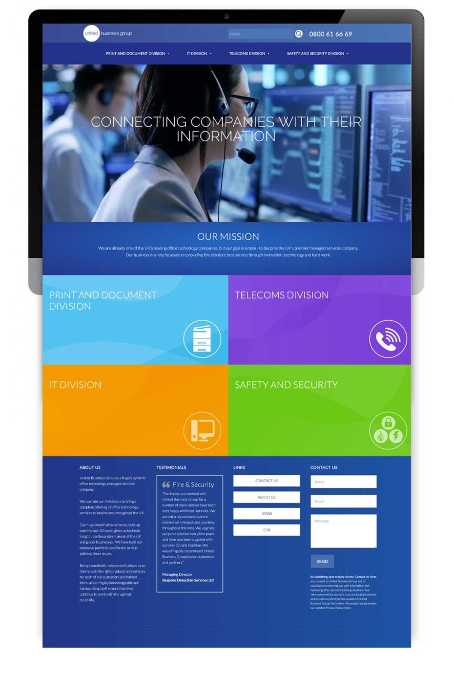 United Business Group Website