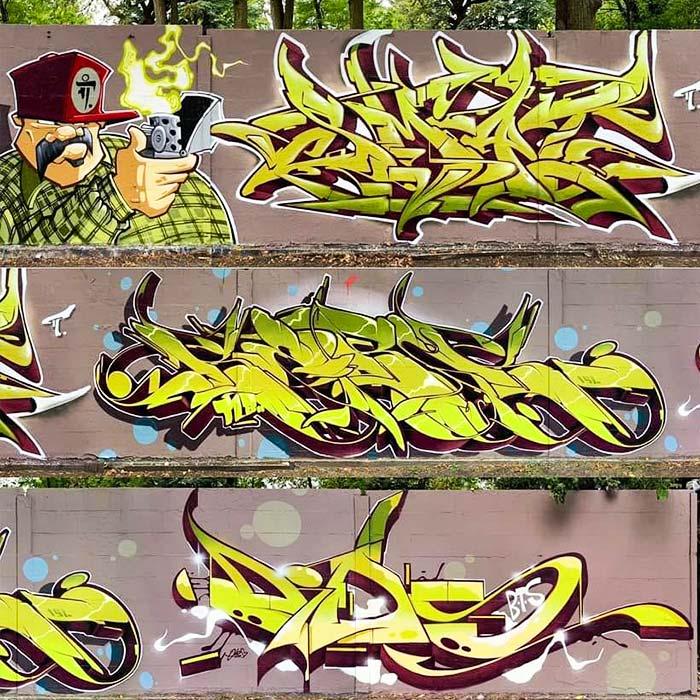 graffiti art genres