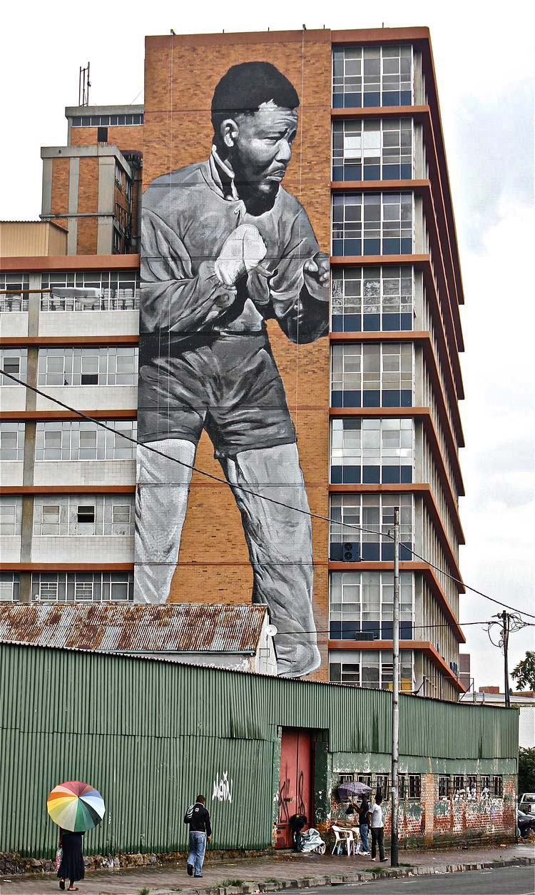 Ricky Lee Gordon street art