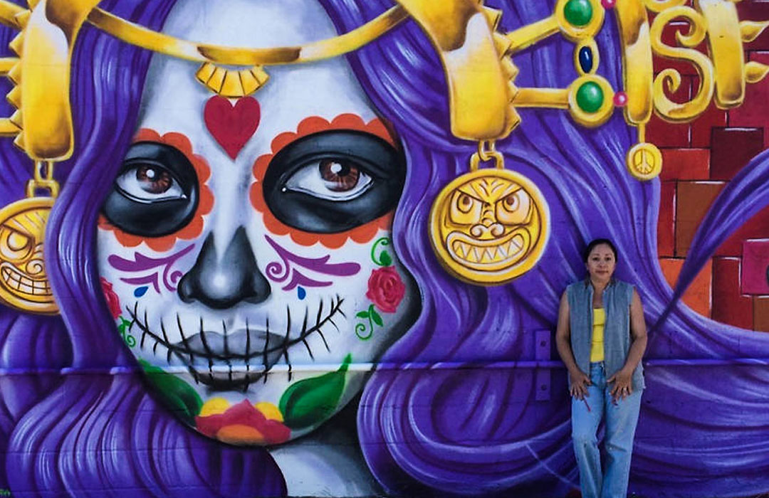Street Art by Lady Pink